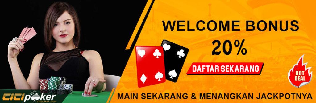 bonus judi poker online resmi
